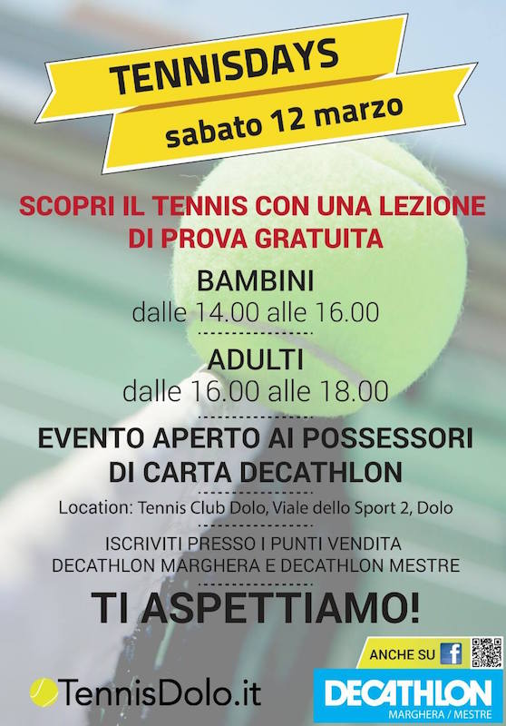 12 marzo tennisday