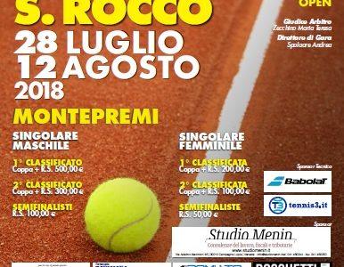 Torneo Open 2018, tabelloni e orari