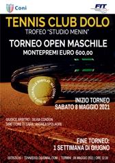 """News dal circolo – OPEN MASCHILE """"TROFEO STUDIO MENIN"""""""